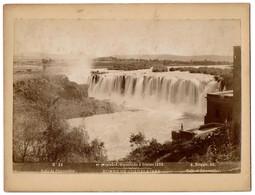 1896 - Mexico - Rumbo De Guadalajara - Falls - Salto De Juanacatlan - N° 26 - Foto A. Briquet - 2 Scans - Foto