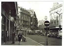 GRENOBLE Rue Félix Poulat Et L'église St-Louis- Photo Originale Format 12x17 Bon état - Grenoble