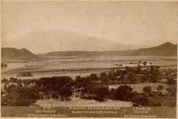 1896 - Mexico - Alrededorès De Puebla - Los Volcanes - Popocatepetl Y Ixtacccihuatl - N° 84 - Foto A. Briquet - 2 Scans - Foto
