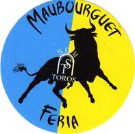 MAUBOURGUET - FERIA - Pegatinas