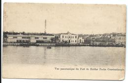 CONSTANTINOPLE - Port De HAÏDAR PACHA (1919) - Turchia