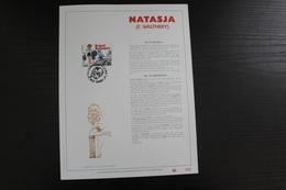 2528 'Natasja' - Luxe Kunstblad - Oplage: 500 Ex. - Bandes Dessinées