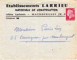 Etablissements LARRIEU - Maubourguet - Advertising