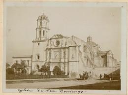 C1895 - Mexico - Eglise / Church San Domingo -  2 Scans - Foto