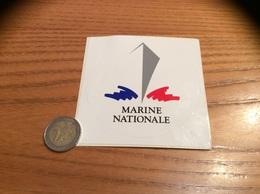 "AUTOCOLLANT, Sticker ""MARINE NATIONALE"" Type 2 - Pegatinas"