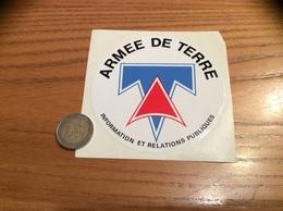 AUTOCOLLANT, Sticker «armée De Terre - INFORMATION ET RELATIONS PUBLIQUES» (militaire) - Pegatinas