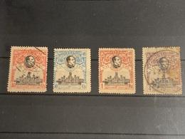 España Nº 306/7, 305, 308. Año 1920. - Used Stamps