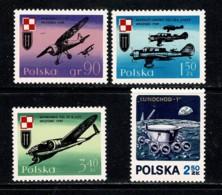 Polska 1971 Yv. 1966/68**, 1970**,  Mi 2019/21, 2022** MNH - 1944-.... République