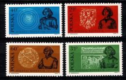 Polska 1972 Yv. 2027/30**,  Mi 2182/85** MNH - 1944-.... République