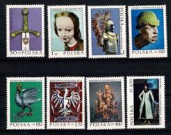 Polska 1973 Yv. 2081/88**,  Mi 2237/44** MNH - 1944-.... République