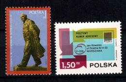 Polska 1973 Yv. 2089/90**,  Mi 2245/46** MNH - 1944-.... République