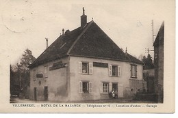 Villersexel - Hôtel De La Balance - Location D'autos, Garage - Other Municipalities