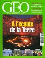 Géo N°314 : A L'écoute De La Terre De Collectif (2005) - Ohne Zuordnung