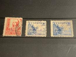 España Nº 893A, 830/31. Año 1937/40. - 1931-50 Used