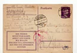 4811 DEUTSCHLAND MONCHHOF TO MODENA - Allemagne