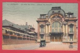 CPA-92-PUTEAUX-Salle Des Fêtes - École Des Garçons - Animation - 1917* 2 SCAN- - Puteaux