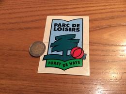 AUTOCOLLANT, Sticker * «PARC DE LOISIRS - FORET DE HAYE - Velaine En Haye (54)» - Pegatinas