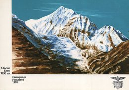 Commemorativa Spedizione Alpinistica 1981 - MACUGNAGA - HIMALAYA - GLACIAR DUM 7193metri - (rif. D38) - Alpinismo