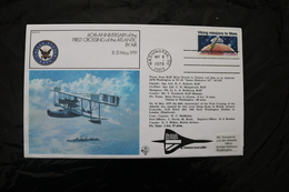United States Washington To London 60th Anniversary First Air Crossing Atlantic Concorde Special Cancel 1979  A04s - Concorde