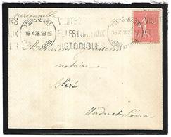 LF D45  Enveloppe De 1928 De Tours Timbre N°199 - Marcophilie (Lettres)