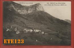 Doucy En Beauges Et La Dent De Pleuven 1810 Mètre Nouvelle Collection - 73 Savoie - Autres Communes