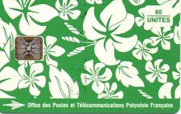Télécarte 1 Lot 8 Cartes Polynésie - Polynésie Française
