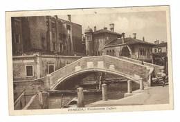 3589 - VENEZIA FONDAMENTA CAFFARO 1920 CIRCA - Venezia (Venice)