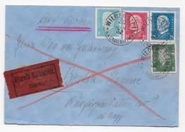 Eilbrief 1932 Wildenstein (Crailsheim) Nach Berlin - Cartas
