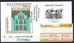 BRD 2001 // Mi. 2197/2197 FDC - [7] Federal Republic