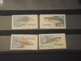 VENDA - 1987 PESCI 4 VALORI - NUOVI(++) - Venda
