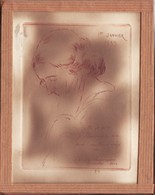 Gravure De 1935 Gabriel Barlangue - Lithographies
