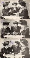 Femme Photo 852, Chiromancie Liseuse De Cartes X 6 - Donne