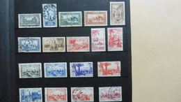 Afrique > Maroc :18 Timbres Oblitérés - Maroc (1956-...)