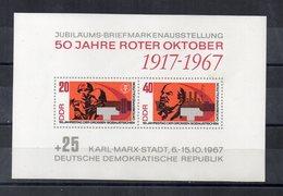 Germania - DDR - 1967 - Blocco Foglietto - 50° Anniversario Della Rivoluzione D'Ottobre - Nuovo - (FDC20090) - [6] Oost-Duitsland