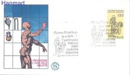 Italy 1979 Mi 1664 FDC ( FDC ZE2 ITA1664 ) - Medicine
