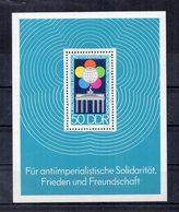 Germania - DDR - 1973 - Blocco Foglietto - 10° Festival Mondiale Della Gioventù A Berlino - Nuovo - (FDC20091) - [6] Oost-Duitsland