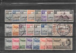EGYPTE Petit Lot (1933 à 1947) Oblitéré - Poste Aérienne