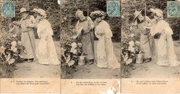 Femme Photo 853, Jardinier Avec Arrosoir X 6 - Donne