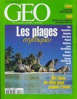 Géo N°227 : Les Plages Mythiques De Collectif (1998) - Ohne Zuordnung