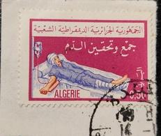 Algérie 1975 DZ 610 Blood Transfusion Commémorative - Algérie (1962-...)