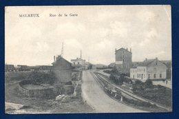 Melreux ( Hotton). Rue De La Gare. Train De Marchandises. 1921 - Hotton