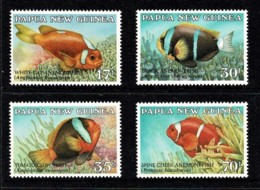 Papua New Guinea 1987 Fish - Anemonefish Set Of 4 MNH - Papua New Guinea