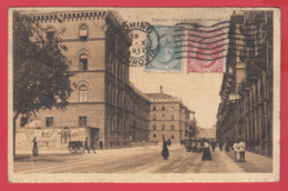 TORINO- VIA E CASERMA CERNAIA -Edit. Bianchi N° 3637*1917*2 SCAN- - Italia