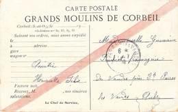 GRANDS MOULINS DE CORBEIL CARTE EXPEDITION - Corbeil Essonnes