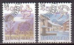 CH  1265/66 , O (K 1589) - Svizzera