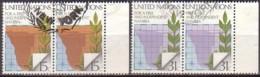 UNO-N.Y.  336/37 Paar , O  (K 1789) - New-York - Siège De L'ONU