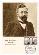 Carte Maximum 1960 - Pierre De Nolhac - YT 1242 - Ambert - Maximum Cards