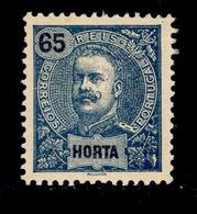! ! Horta - 1898 D. Carlos 65 R - Af. 30 - MH - Horta