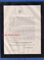Document De 1884 - LYON - Abbé Nicolas  Joseph De GARNIER Des GARETS - Chanoine De La Primatiale De Lyon - Décès