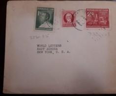 O) 1936 CUBA - CARIBBEAN, MAXIMO GOMEZ, PRES. JOSE MIGUEL GOMEZ SC 322, MONUMENT SC 323, TO USA - Cuba